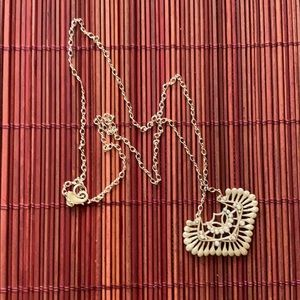 Gold Pendant Necklace - Anthropology